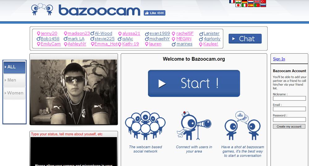 bazoocam - omegle alternative