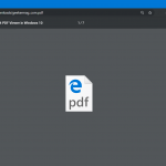 How to Disable Microsoft Edge Chromium as Default PDF Viewer in Windows 10