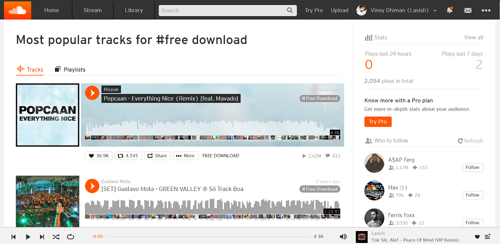 soundcloud - best sites to download english songs free