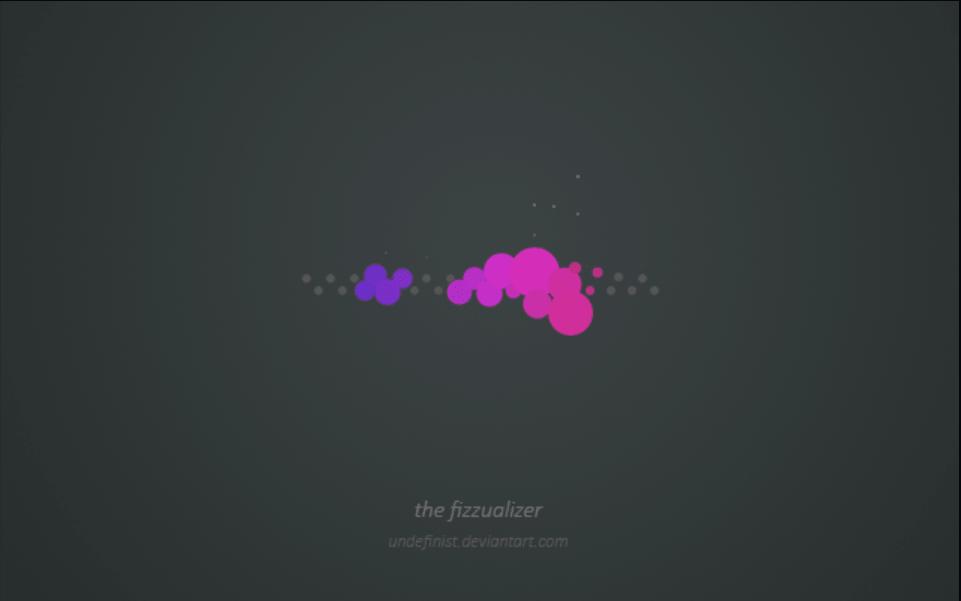 the fizzualizer rainmeter visualizer