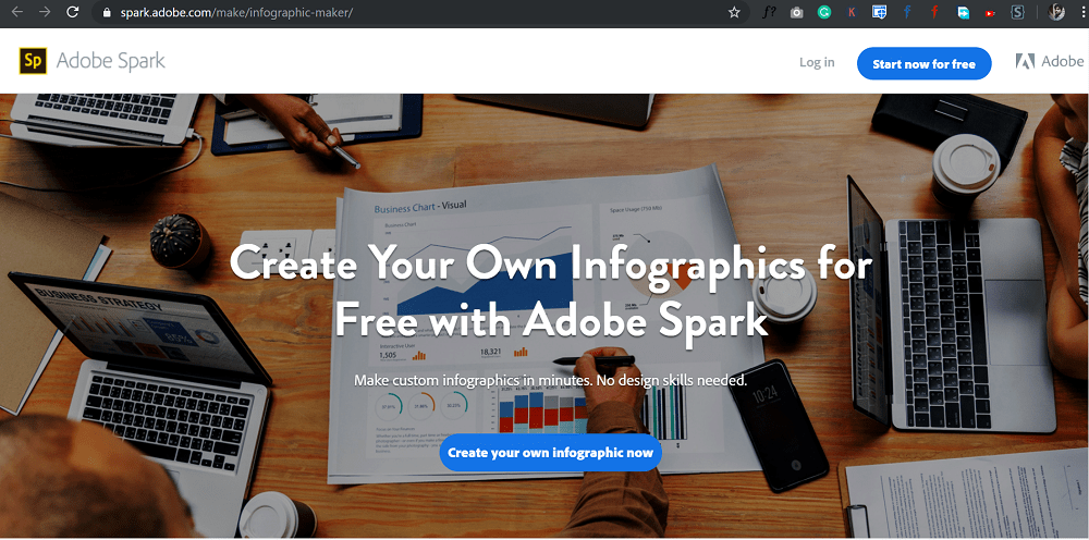 Create Your Own Infographics for Free with Adobe Spark