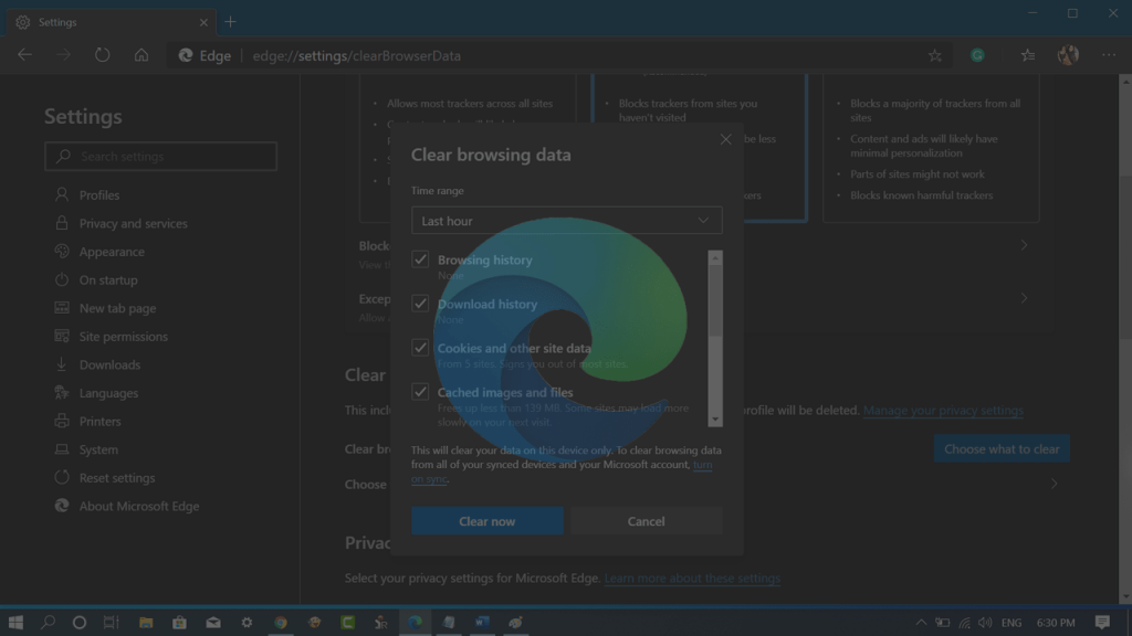 How to Clear Browsing Data in Microsoft Edge Chromium