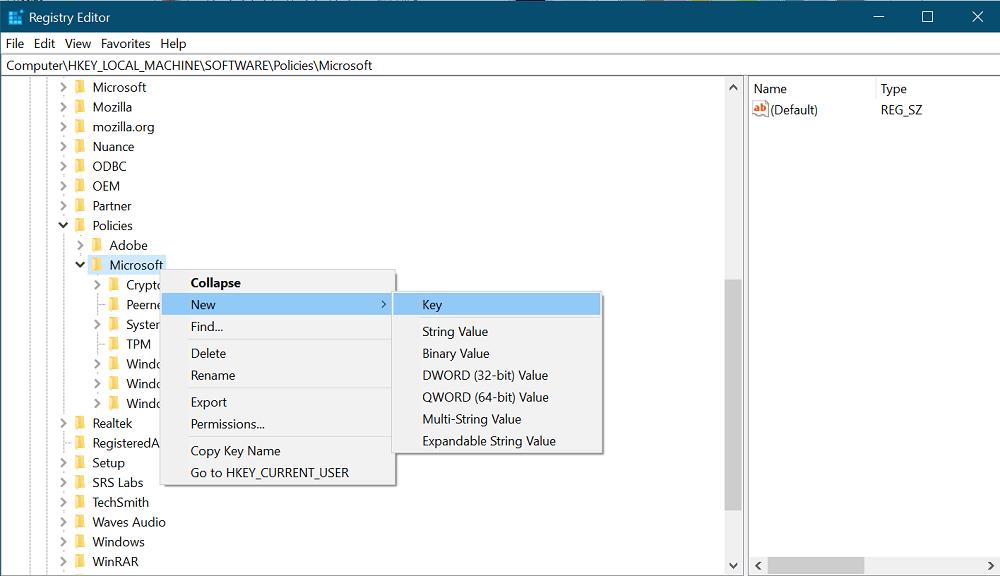 edgeupdate key