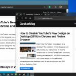 How to Enable Microsoft Edge (Chromium-based) and Microsoft Edge (Edge HTML) side-by-side