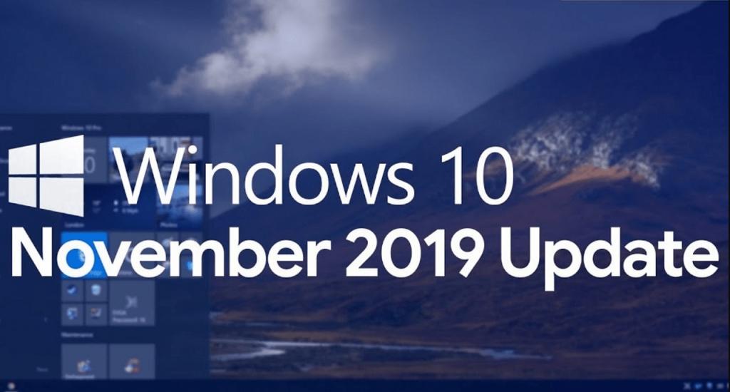 windows 10 November 2019 Update