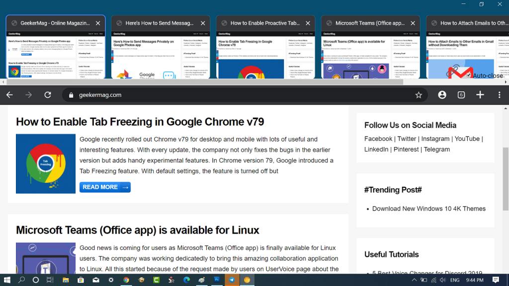 How to Enable WebUI Tab Strip In Google Chrome