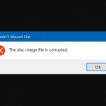 Fix: The Disc Image File Is Corrupted Error In Windows 10