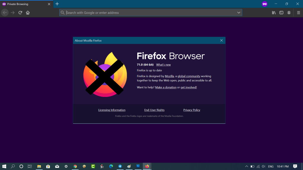 Fix - Firefox 71 does not start after update