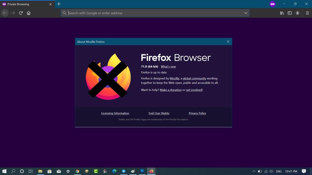 Fix - Firefox 71 does not start after update