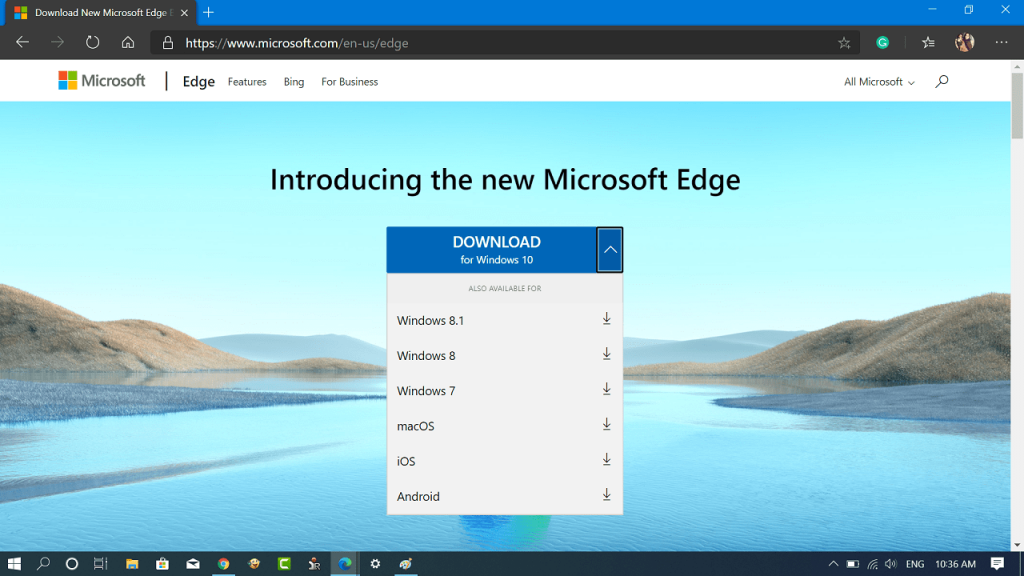 How to Download Microsoft Edge Stable Version