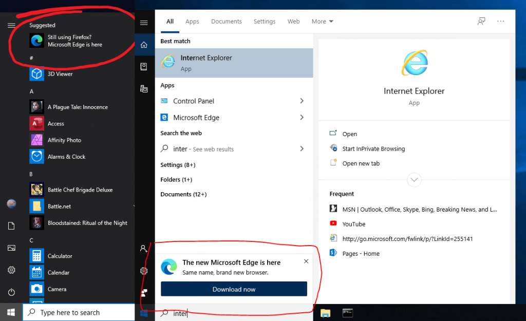 How to Get Rid of Microsoft Edge Windows 10 Start Menu