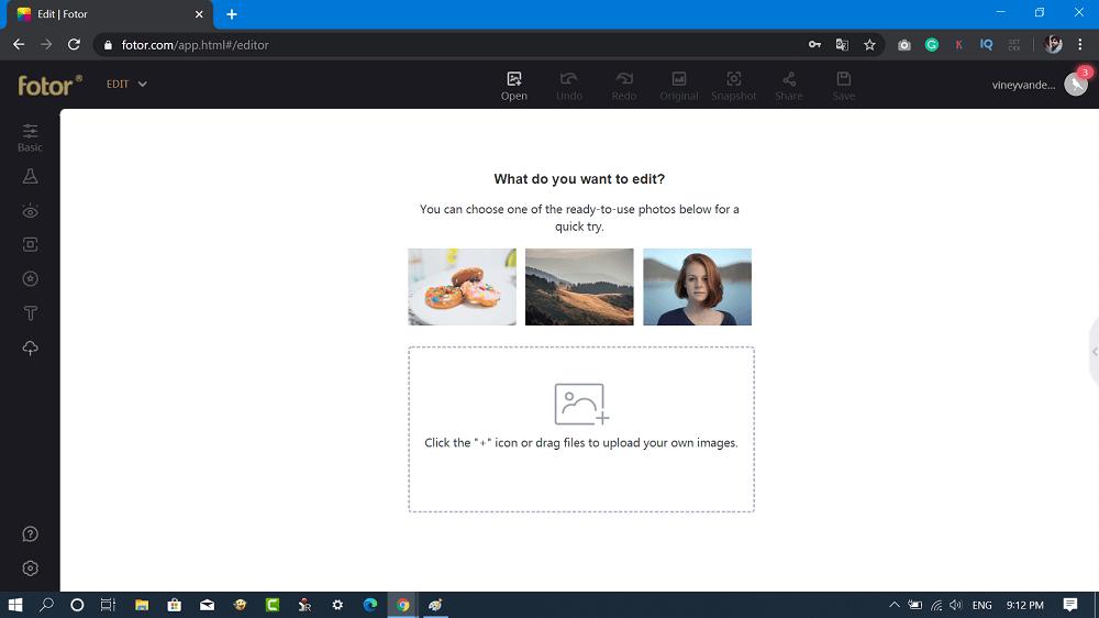 fotor - online image editor