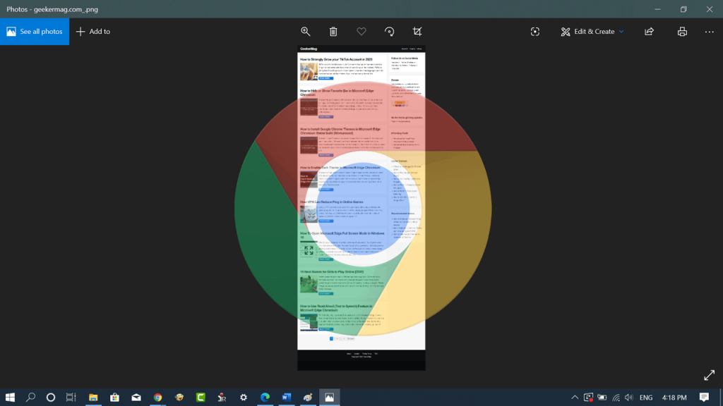 How to Take Full Page Screenshot in Chrome without Extension