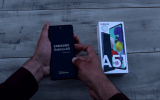 Turn Off Galaxy A51 by Holding Down Power Button