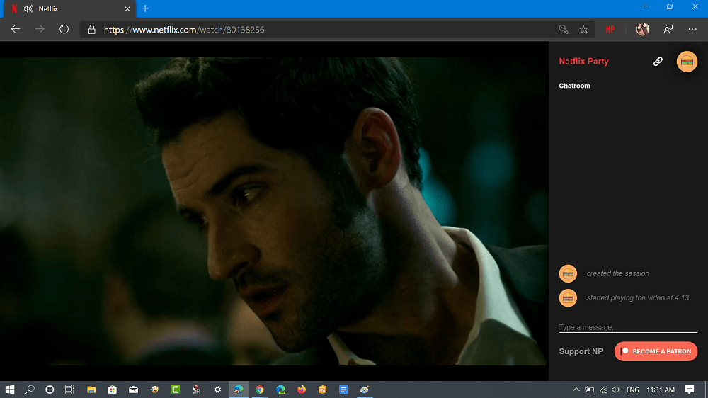 install netflix party extension in microsoft edge