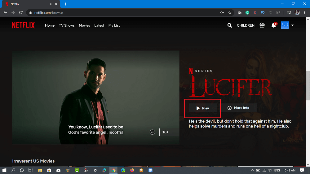lucifer on