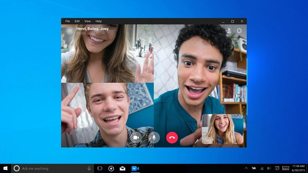 messenger app for windows 10 2