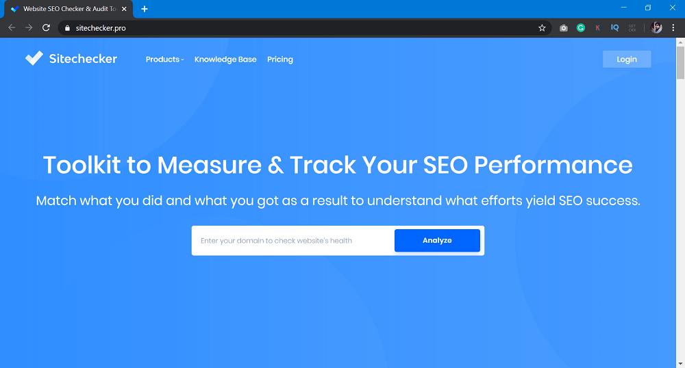 sitechecker.pro - SEO Tools to Improve Website Ranking