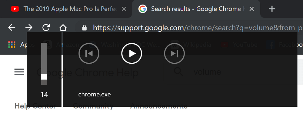 Fix - Chrome.exe appear in Volume Control on Windows 10 Desktop and Lockscreen in Chrome v80