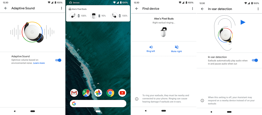 google earbuds app for android