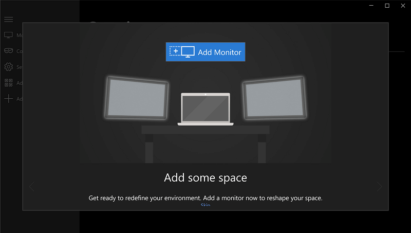 holoscreen mirage app for hololens 1
