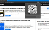 How to Share Web Page via QR Code in Microsoft Edge