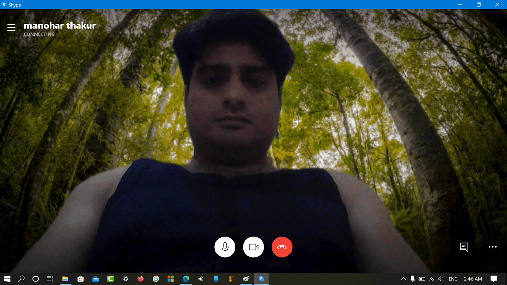 skype custom background preview