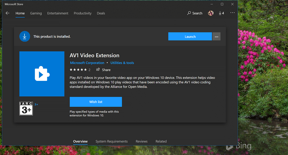 How to Enable AV1 Video Playback Support in Windows 10