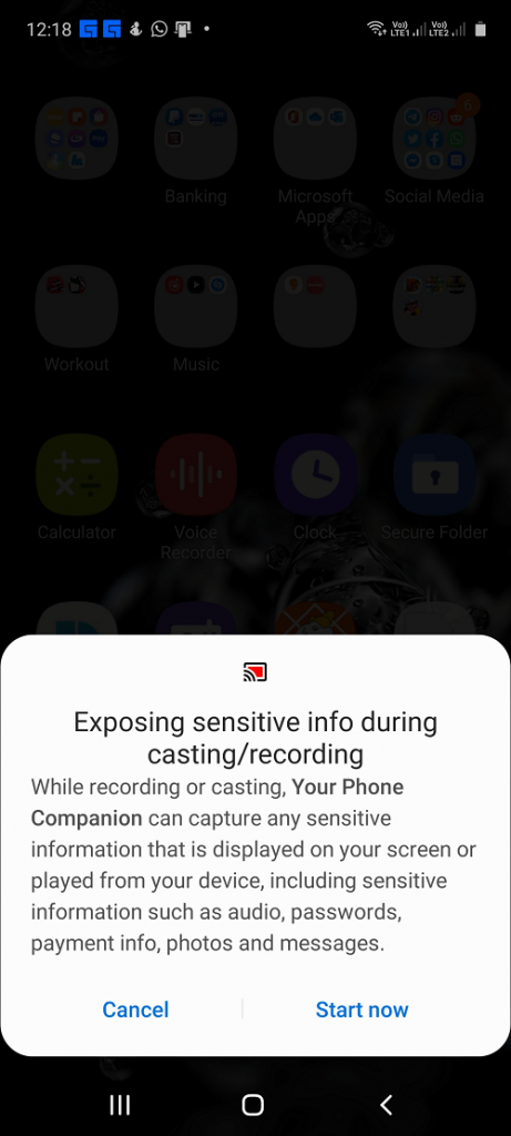 display screen permissions
