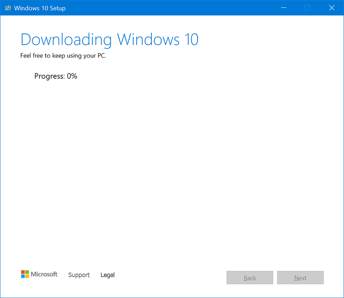 Download ISO Image of Windows 10