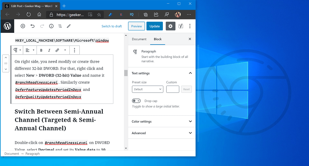 How to Enable New Windows Spellchecker in Chrome for Windows 10