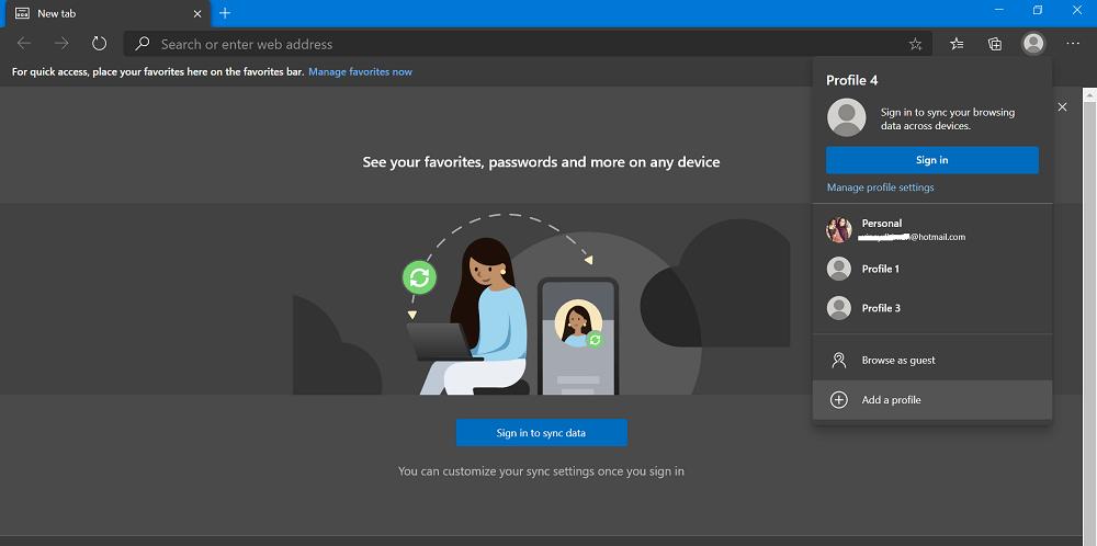 How to Setup multiple profiles in Microsoft Edge Chromium