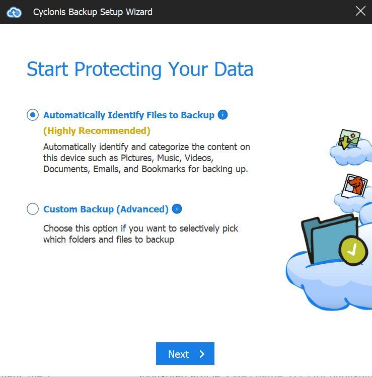 start protecting your data