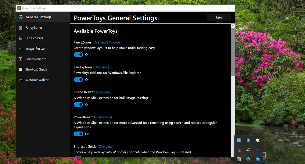 Download PowerToys app for Windows 10