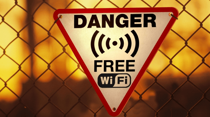 avoid public wifi to stay anonymous online