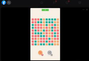 bricks pop - facebook instant game