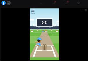 cricket frvr - facebook instant games