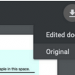 Download Edited PDF Files from Chrome