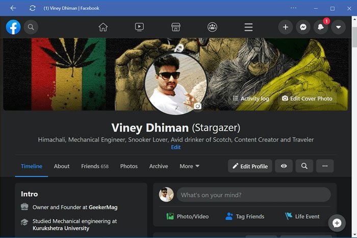 How to Enable Dark Mode for Facebook Desktop Version (Officially)
