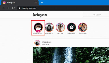 watch instagram live videos on chrome or edge