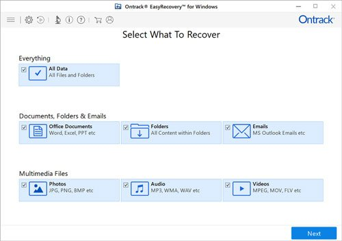 knroll ontrack easy recovery for windows 10