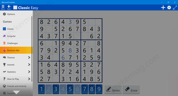 Download Microsoft Sudoku Game for Windows 10 from Microsoft Store