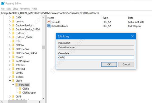 Onedrive instance registry hack