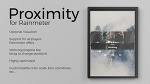 proximity visualizer for rainmeter