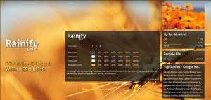 rainify skin for rainmeter