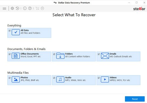 Stellar Data recovery software for windows 10