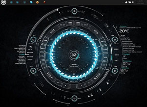 Tech A - Best Rainmeter Skins