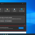 How to Remove Microsoft Edge Download Ad on Search & Start Menu in Windows 10 v2004