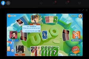 Uno - facebook instant game