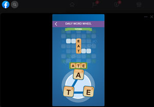 words with friends - facebook instant games
